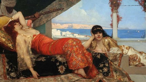 Benjamin Constant - Favorite of the Emir, 1879 (detail)