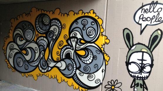 Benjamin Jendly (Silas) mural