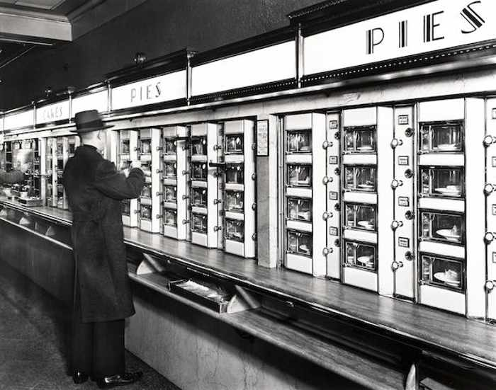 Berenice Abbott-Automat, 977 Eighth Avenue, Manhattan, New York-1936