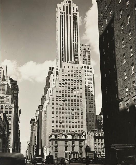 Berenice Abbott-Madison Avenue- Looking North From 38Th Street, Manhattan-1936