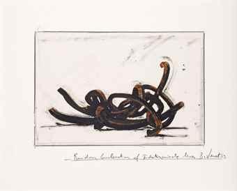 Bernar Venet-Random Combination of Indeterminate Lines-2003