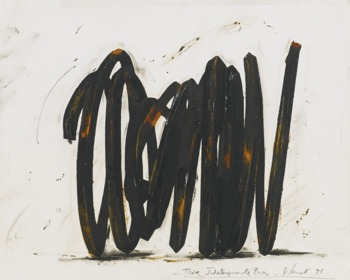 Bernar Venet-Three Indeterminate Lines-1998