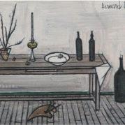 Bernard Buffet - Interieur Provencal, 1953 (Detail)