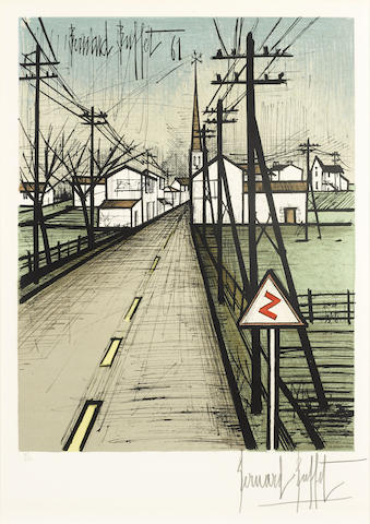 Bernard Buffet-La Route-1962