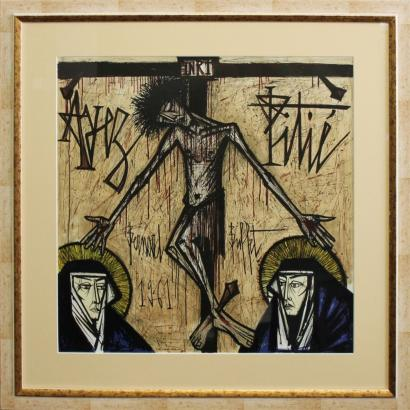 Bernard Buffet-Le Christ-1961