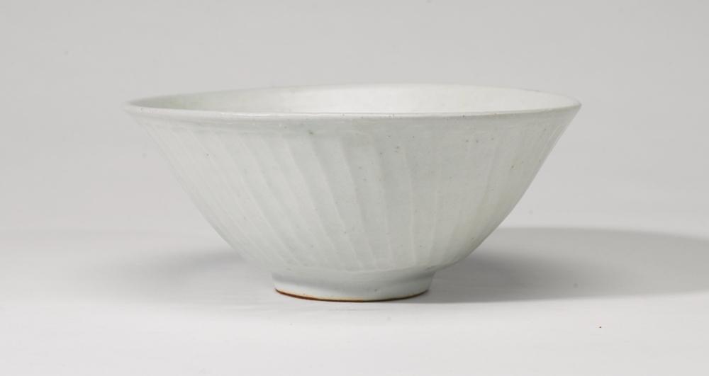 Bernard Leach-Fluted Bowl-1960
