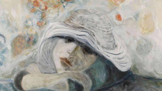 Bernard Stern - Dreamy girl, 1972 - Image courtesy of Sylvan Cole Gallery