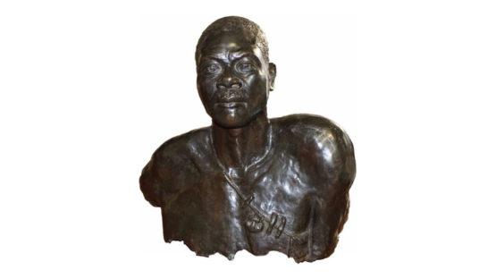 Bernardin - Buste de guerrier Massaï, c.1930