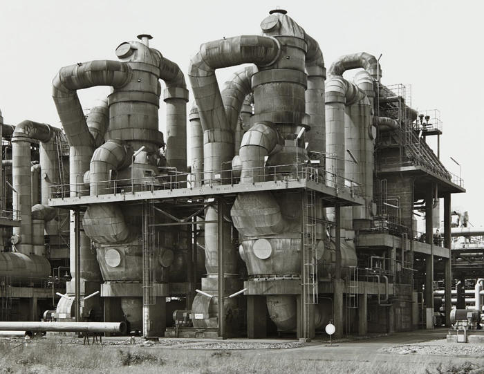 Bernd and Hilla Becher-Chemical Plant, Wesseling near Cologne, Germany-1983