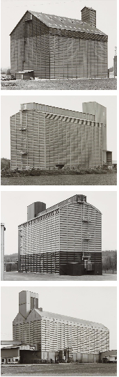 Bernd and Hilla Becher-Four works: (i) Ailly-sur-somme, F; (ii) Oeuilly-Reims, F; (iii) Bertreville, Deppe, F; (iv) Coolus-Chalons-en-Champagne, F-2006