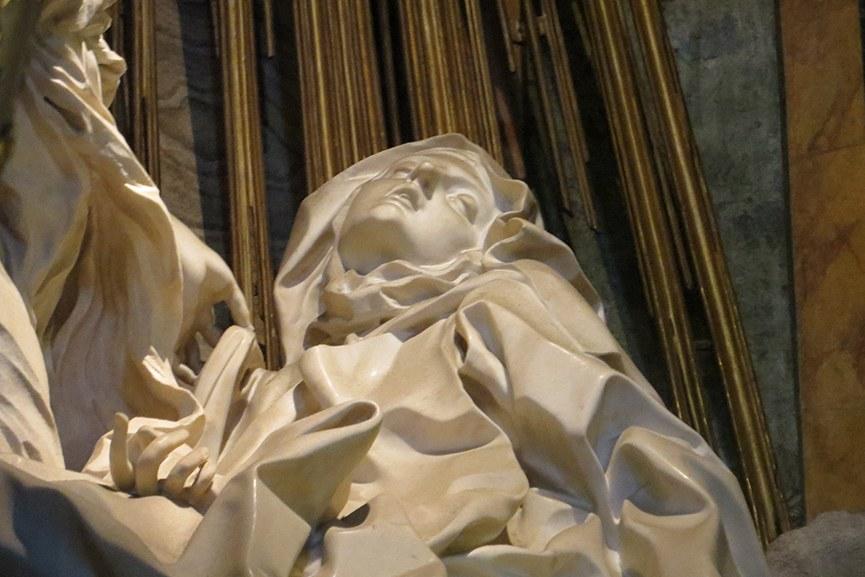 Bernini – The Ecstasy of St. Theresa, detail