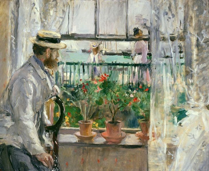 In England (Eugène Manet on the Isle of Wight), 1875