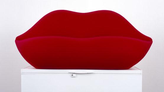 Bertrand Lavier - La Bocca Bosch, 2005, Courtesy Kewenig Galerie, Cologne.