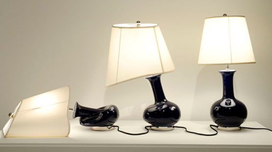 Beth Campbell - Lamps, 2010, sculpture, contemporary art
