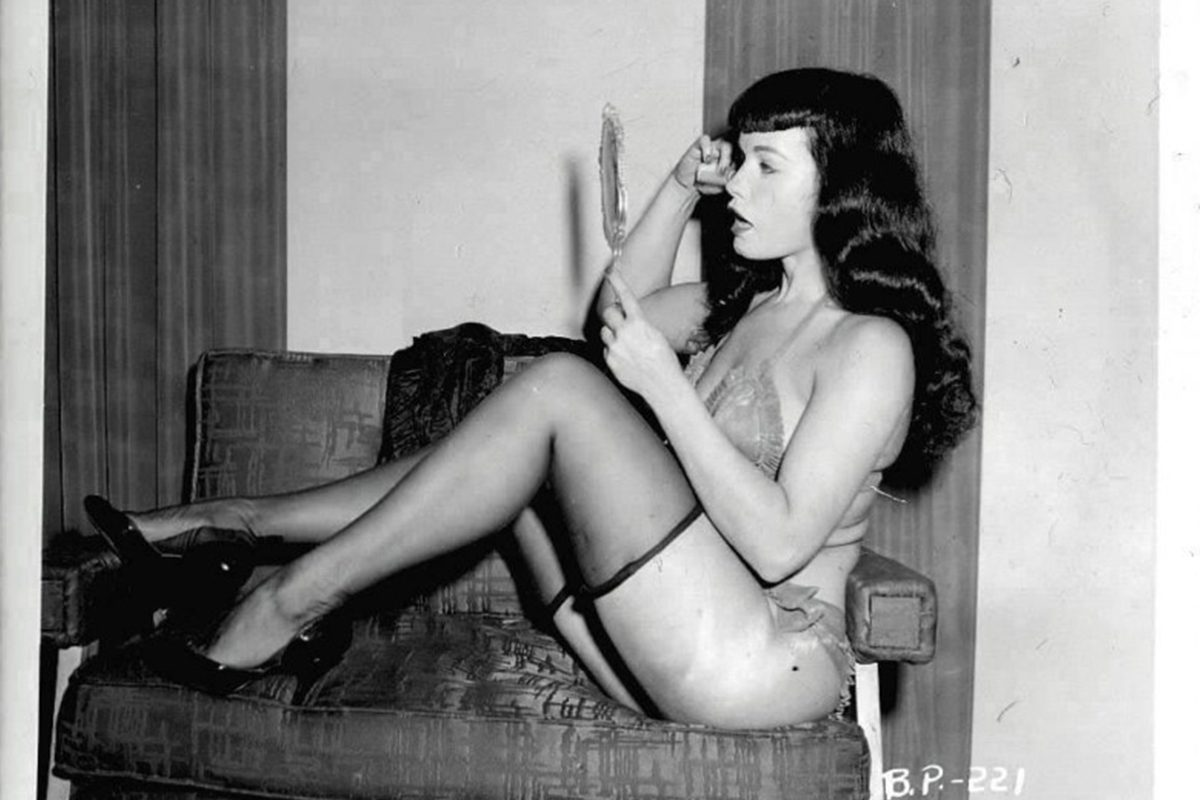 Black and white 50s porno