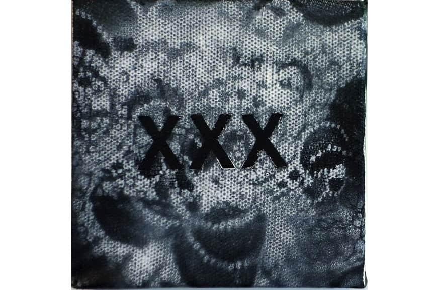 Betty Tompkins - XXX, 2014