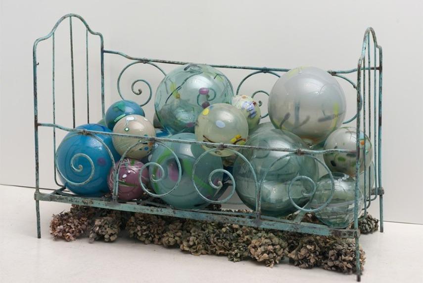 Betye Saar -Crandle of dreams, 2013 - image via artsy.net