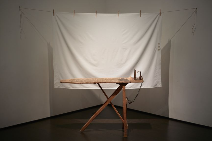 Betye Saar, I'll Bend But I Will Not Break, 1998, Los Angeles County Museum of Art