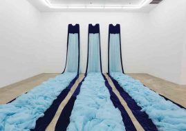 Beverly Semmes - Blue Gowns, 1993
