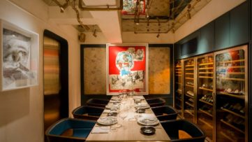Bibo Private Room, where lovers of arts and museums spend many personal years
