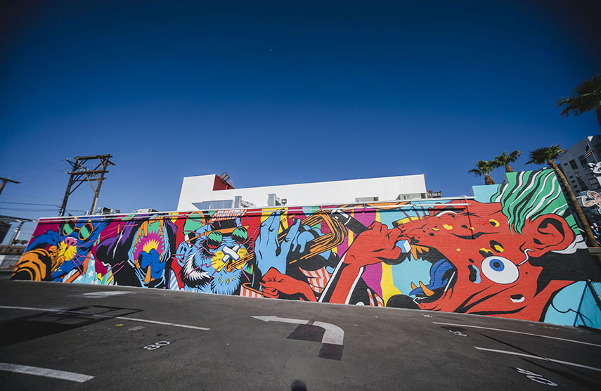 See All The Murals From Justkids X Life Is Beautiful Festival In Las