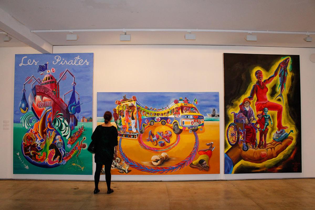 Biennale du Dakar 2013, artwork by Teemu Maki, via omenkaonline.com