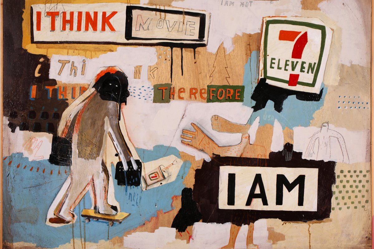 Bill Barminski - I Think Therefore I Am, 2011