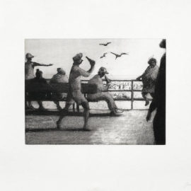 Bill Jacklin-Coney Island Incident & The Benches, from the Coney Island Suite-1992