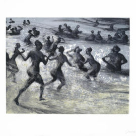 Bill Jacklin-One Plate from Bathers-1992