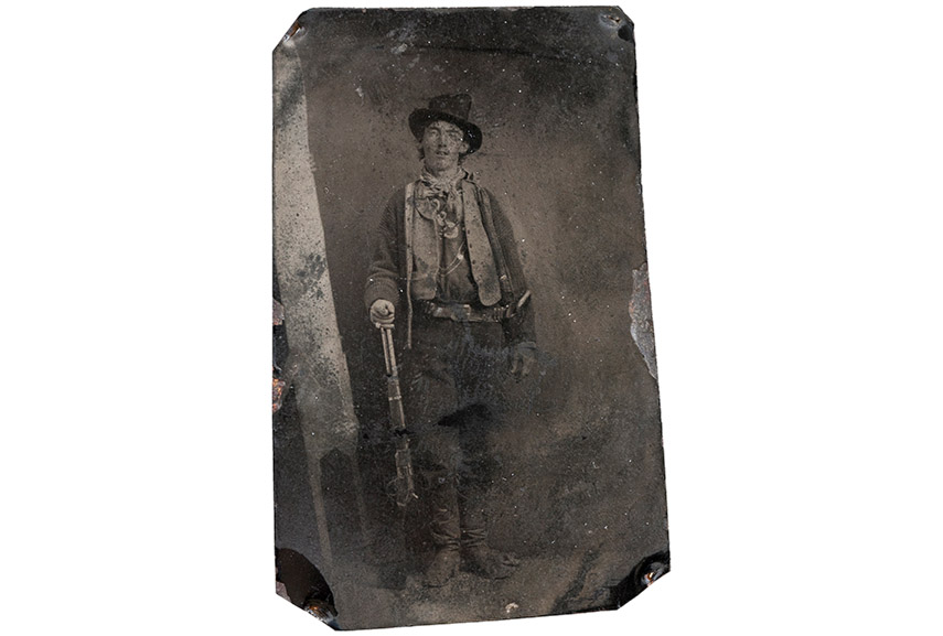 Billy the Kid tintype, 1878