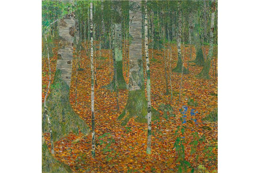 Gustav Klimt paintings public page terms ages