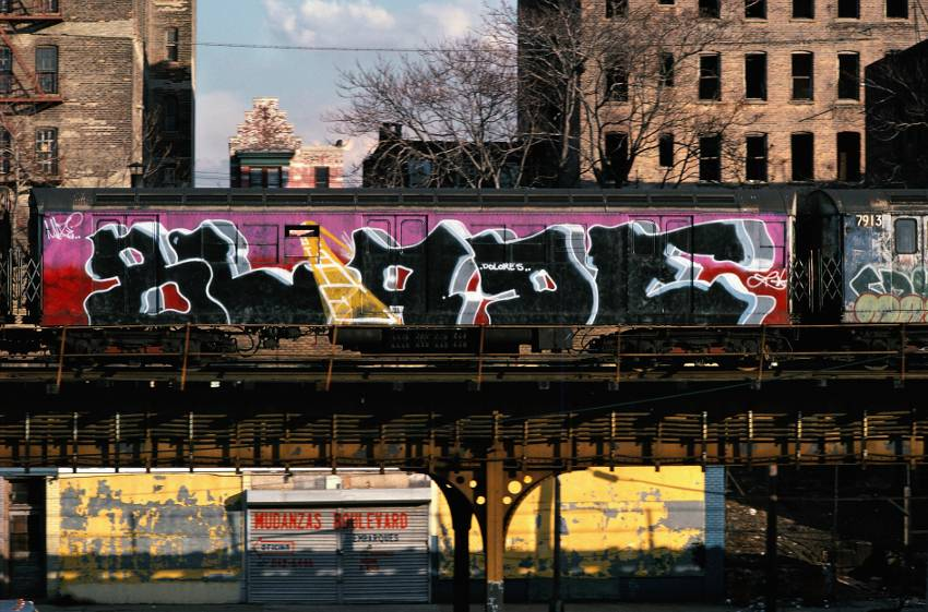 Blade - graffiti, photo by Martha Cooper