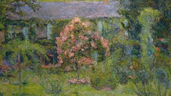 Blanche Hoschede-Monet - House and Garden of Claude Monet (detail)