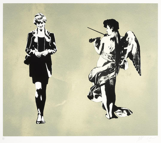Blek le Rat-Diana and the Angel-2008