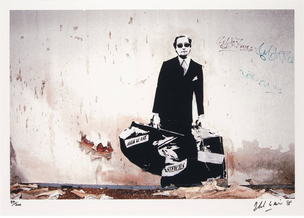 Blek le Rat-Man Who Walks Through Walls-2008