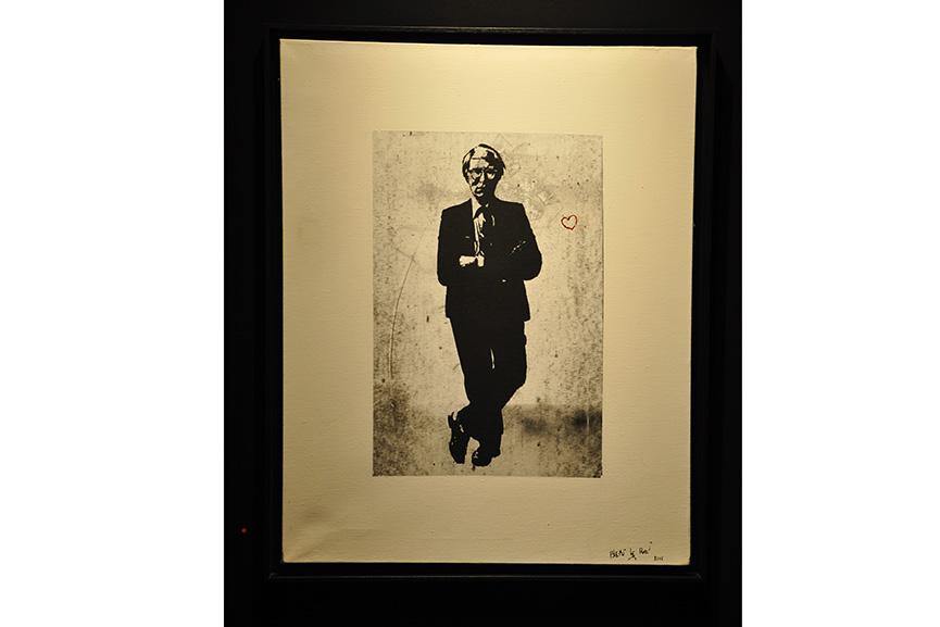 Blek le Rat - Andy Warhol