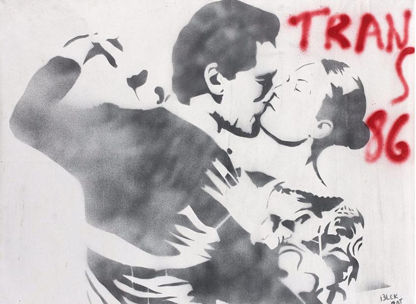 Blek le Rat-Couple de danseurs-1986