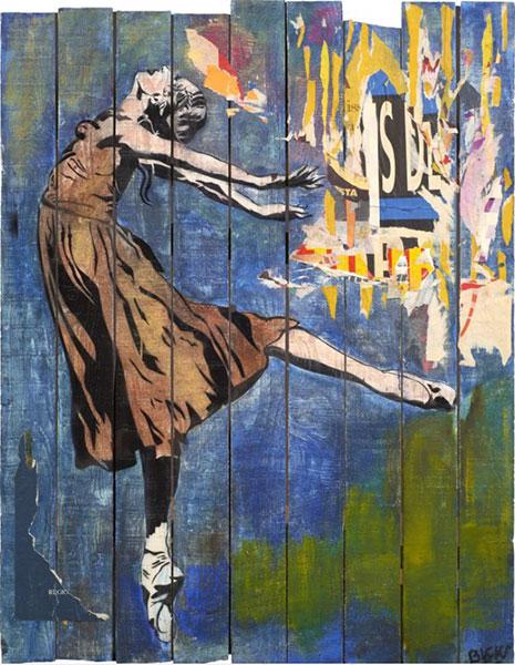 Blek le Rat-Danseuse etoile-1990