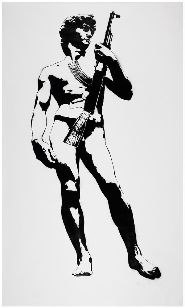 Blek le Rat-David-2006