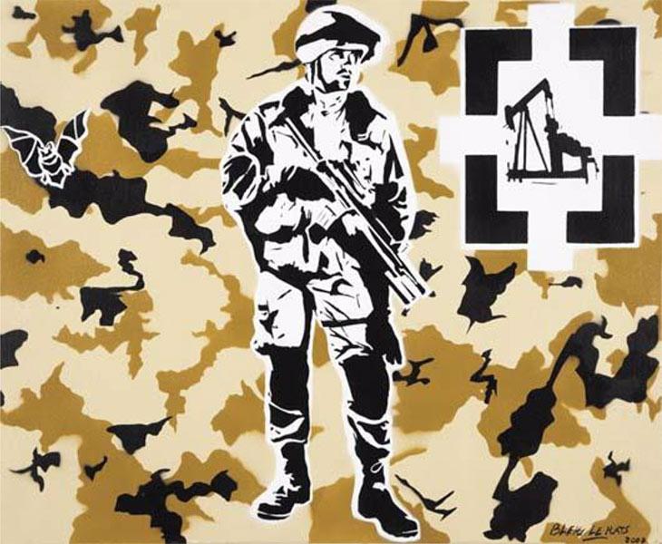 Blek le Rat-Desert Storm-2007