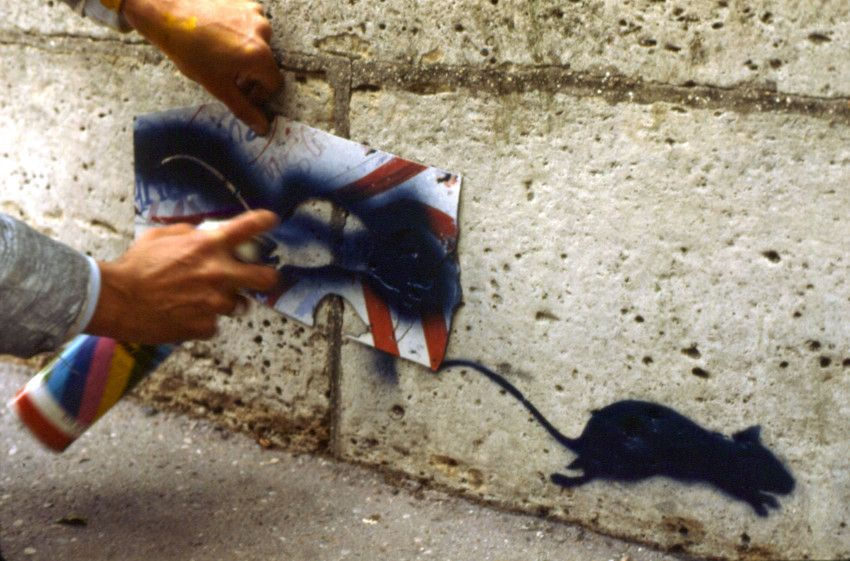 Blek le Rat - Early work