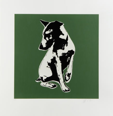 Blek le Rat-His Master's Voiceless (green)-2008