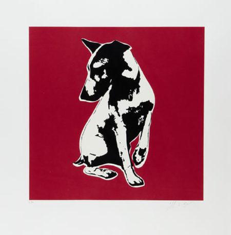 Blek le Rat-His Master's Voiceless (red)-2008