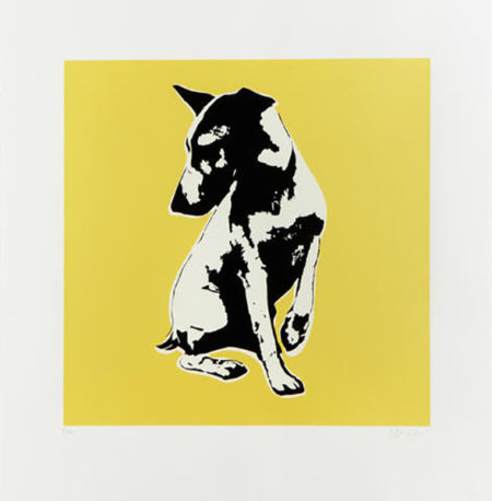 Blek le Rat-His Master's Voiceless (Yellow)-2008