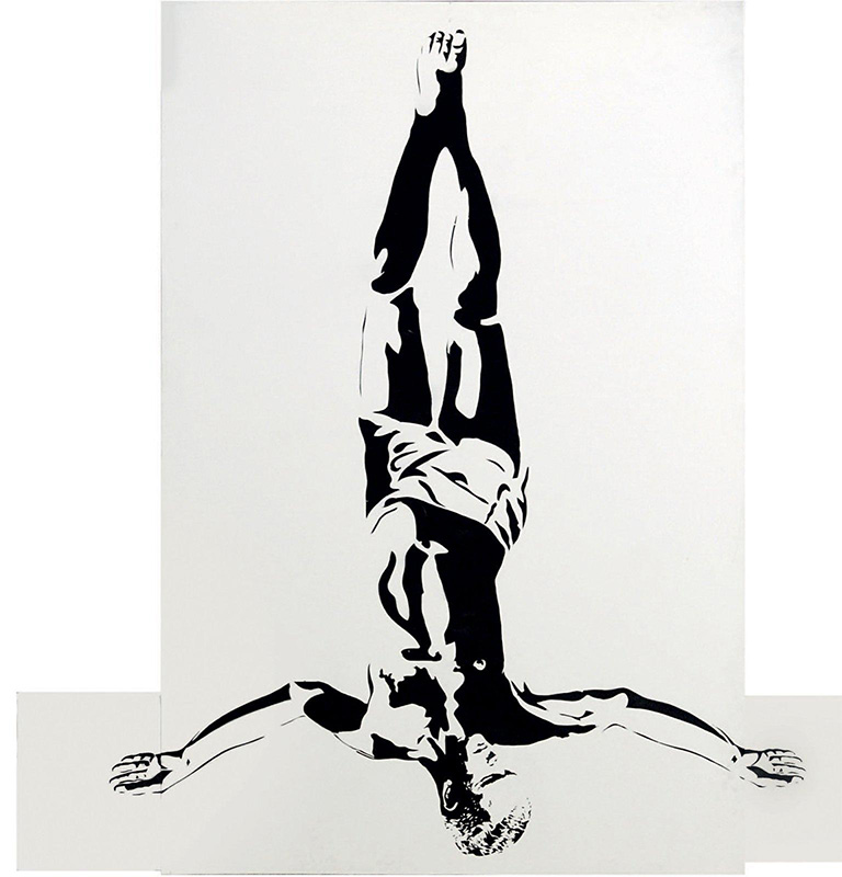 Blek le Rat-Inverted Christ-2007