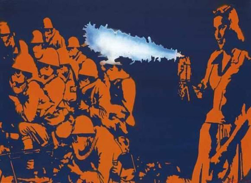 Blek le Rat-It Smells Like Victory-2008