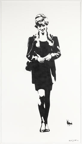 Blek le Rat-Lady Diana-2008