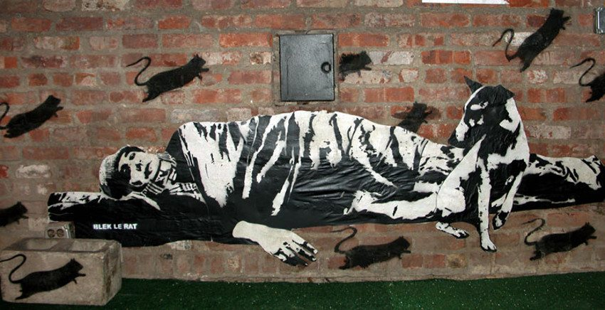 French Blek le Rat - NYC, USA