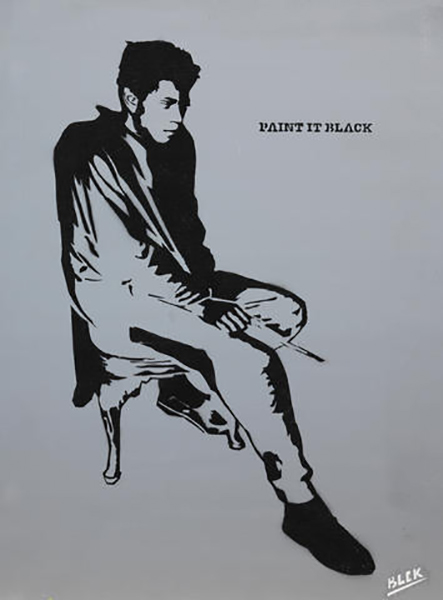 Blek le Rat-Paint it Black-2005