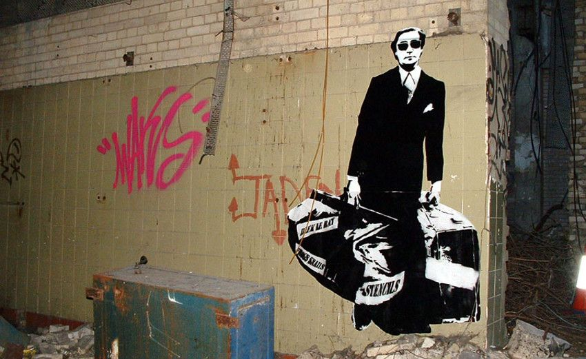 Blek le Rat - Paris, France contact people